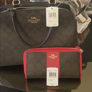 Brand new COACH Purse and wallet combo